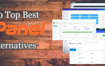10 Top Best cPanel Alternatives