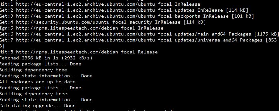 upgrade all Ubuntu packages