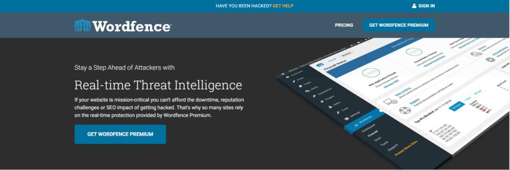 Wordfence Security Plugin:
